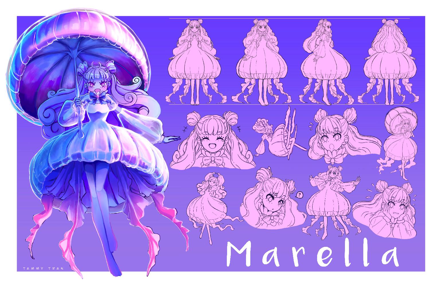 Sea Creature Design - Jellyfish Protagonist